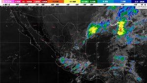 Se prevén tormentas muy fuertes para Nuevo León, Tamaulipas, Veracruz, Oaxaca y Quintana Roo