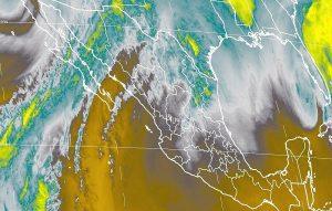 Se pronostica descenso de temperatura, lluvias y vientos fuertes en Baja California y Sonora