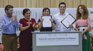 Destinaran 100 MDP para construir la ciudad de las mujeres en Campeche: Moreno Cárdenas