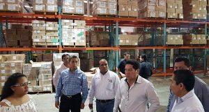 Distribuyen fármacos a unidades médicas en Tabasco