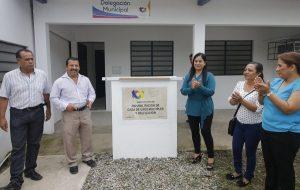Entrega Casilda Ruiz rehabilitación de Casa de Usos Múltiples y Delegación de Ra. Estanzuela
