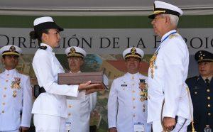 Realizan entrega – recepción de la dirección de la Heroica Escuela Naval Militar