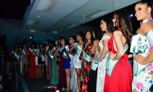 Presentan a las participantes de Miss Earth Veracruz 2018