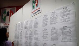 Amplia PRI entrega de documentación en los Estados