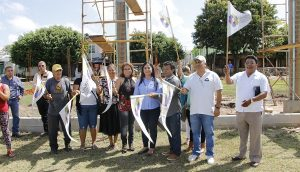 Invierte Centro 1.7 MDP en techumbre de cancha de usos múltiples en Lomas de Ocuiltzapotlán