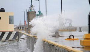 Alerta Gris en Veracruz por pronóstico de lluvia y evento de norte