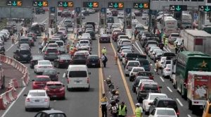 Autopista México-Querétaro, la de mayor aforo de vacacionistas este domingo