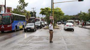 Continuara programa para suprimir vuelta a la izquierda en la avenida Kabah en Benito Juárez