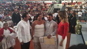 Se casan 500 parejas en el Puerto de Veracruz