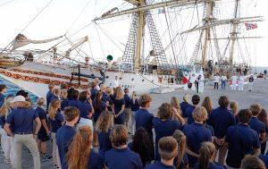 """Puerto Morelos da la bienvenida a los estudiantes del Buque Escuela n""""Sorlandet"""""""