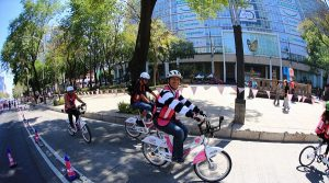 Rompe récord Paseo Dominical «Muévete en bici»: participan más de 81 mil personas