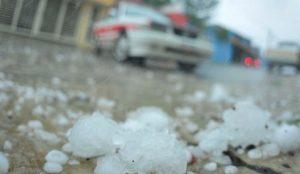 Cae granizo en Xalapa y varios municipios de Veracruz