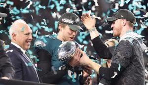 Águilas de Filadelfia campeones del Super Bowl LII