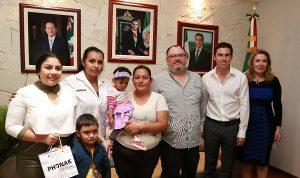 Reconoce Remberto Estrada la generosidad de los cancunenses