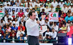 Vamos juntos hacer de Veracruz el nuevo reencuentro de trabajo y seguridad: Pepe Yunes