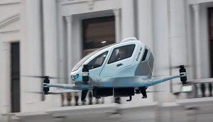 Taxi Drone puede trasladar a dos personas