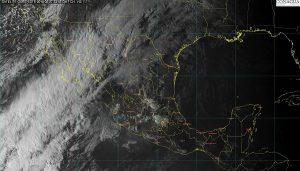 Se prevé descenso de temperatura, lluvias, vientos fuertes y nevadas en el noroeste de México