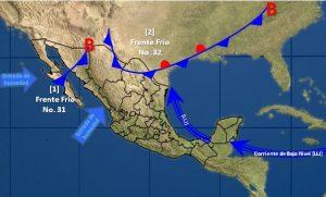 Se prevén tormentas, granizo y vientos fuertes en Nuevo León, Tamaulipas y Coahuila