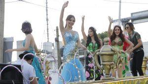 Algarabía y colorido en las calles de Villahermosa desfile de Carnaval 2018, Las Fiestas del Rey Momo