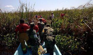 Personal militar aplica PLAN DN-III- E por incendio en Jalpa de Méndez