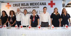 Invita Remberto Estrada a apoyar a la Cruz Roja