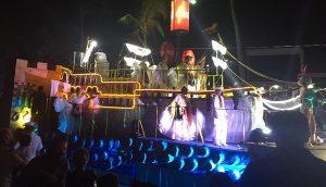 Realizan primer desfile con carros alusivos a hechos históricos Carnaval de Veracruz 2018