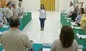 Designa Cabildo a Casilda Ruiz Agustín como presidenta municipal de Centro