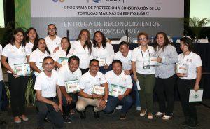 Reconoce Remberto Estrada esfuerzo de sociedad en preservación de especie