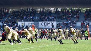 Inicia tercera temporada de Liga de Futbol Americano profesional en CDMX