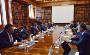 El Gobernador de Yucatán se reúne con titular de Segob