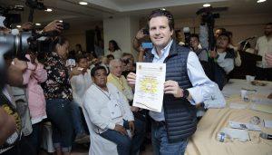 Elige el PRD a Gerardo Gaudiano como candidato a la gubernatura de Tabasco