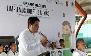 """Arranca campaña """"Limpiemos Nuestro México"""" en Benito Juárez"""