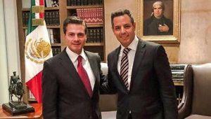 Agradece gobernador de Oaxaca a Enrique Peña Nieto solidaridad tras sismos