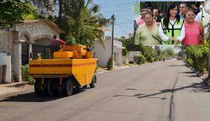 Rescata gobierno de Laura Fernández vialidad en beneficio de los habitantes de Puerto Morelos