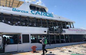 Explosión en Ferry Caribe, por falla mecánica: APIQROO