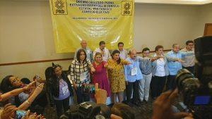 Define PRD lista de diputaciones plurinominales y alcaldías en Tabasco