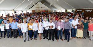 Fortalece Núñez identidad y actividad artesanal en Tabasco