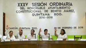 Aprueba cabildo de Benito Juárez prorroga en trámite de licencia de funcionamiento 2018