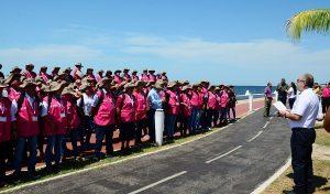 Da INE banderazo de salida a capacitadores electorales en Campeche