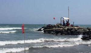 Habrá restricción de ingreso a playas en Boca del Río si el oleaje incrementa: PC