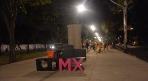 Transforma GCDMX camellón de Churubusco en área de recreación y deporte