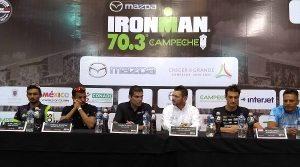 Mil 400 atletas en Ironman 70.3 Campeche 2018
