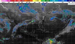 Se prevén lluvias en Nuevo León, Tamaulipas, Veracruz, Puebla y Estado de México