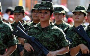Convoca SEDENA a las jóvenes mexicanas a formar parte de las filas del Ejército mexicano en Tabasco