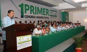 Es el momento de la revolución productiva en el CAMPO mexicano: José Santos Márquez Gordillo