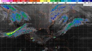 Se prevé viento de norte con rachas mayores a 60 km/h en el Istmo y el Golfo de Tehuantepec
