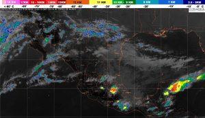 Se prevén tormentas muy fuertes en regiones de Puebla, Veracruz, Oaxaca y Chiapas