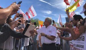 Inicia AMLO campaña en Ciudad Juárez, Chihuahua