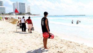 Saldo blanco en playas de Cancún, reporta Protección Civil
