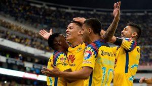 América vence al Cruz Azul en el Azteca